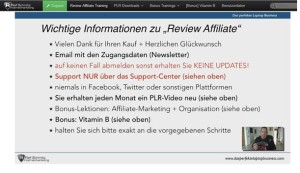 Was ist das Review Affiliate